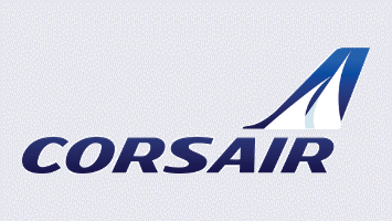 logo Corsair interprétation de conférences colloques compagnies aériennes secteur aérien