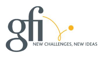 logo GFI pour interprétation de conférence