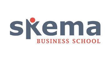 logo skema pour interprétation de conférence université et grande école