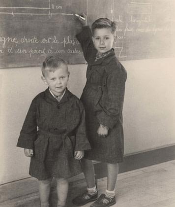 blouse d'écoliers années 40