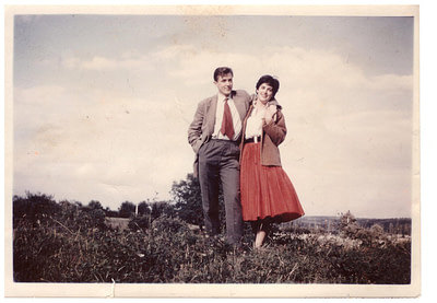french english couple in the sixties - relationship between the French and the English