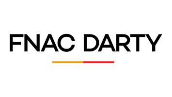 logo Fnac Darty pour interprétation de conférence professionnels électronique grande consommation