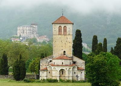Basilique Saint-Just de Valcabrère, Saint-Bertrand-de-Comminges , France